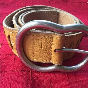 Fossil Leather Belt Size Large